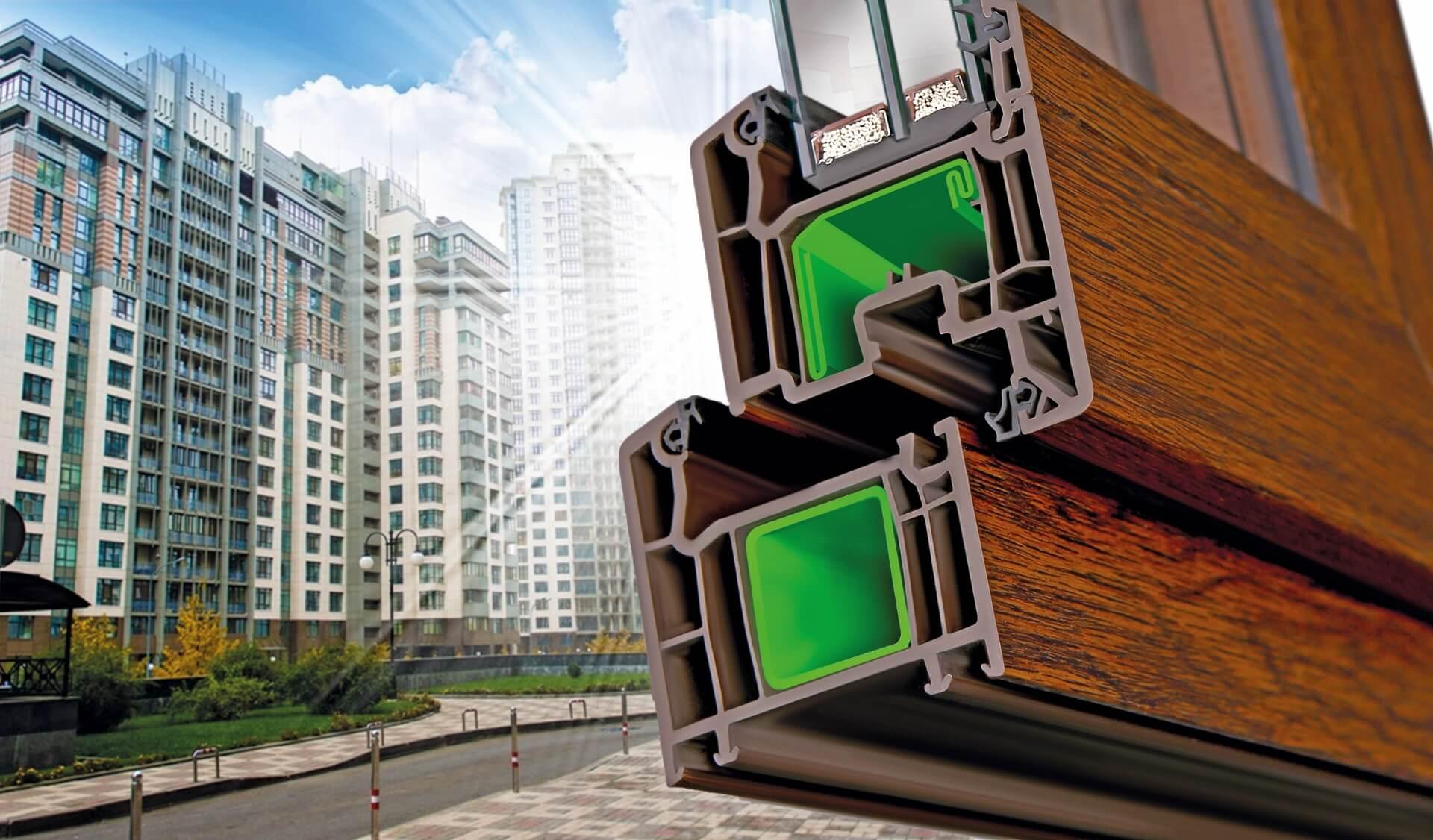 Металлопластиковые окна VEKA от производителя